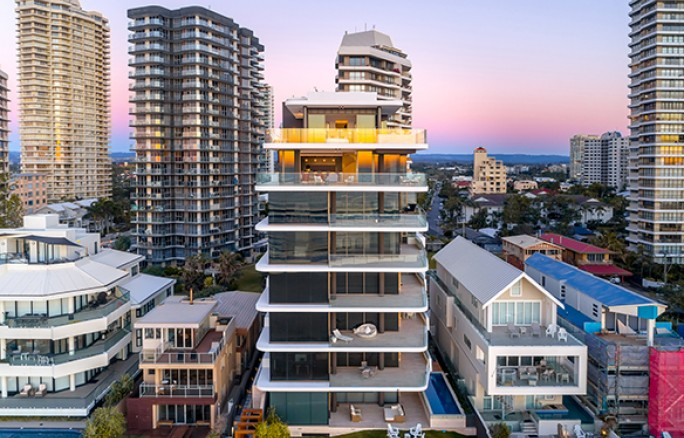 Main Beach Tower Commercial Architecture Gold Coast